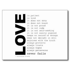 Just SOLD! - Definitions of Love Post Card