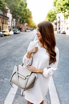 Dress Zara Bag Céline Ballerinas Wonders
