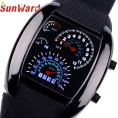 Grab them now! SunWard 2017 Fashion Aviation Turbo Dial Flash LED Watch Gift Mens Lady Sports Car Meter Stainless steel Dress Wristwatches on my Shopify store ✨ http://treasurechestfashions.com/products/sunward-2017-fashion-aviation-turbo-dial-flash-led-watch-gift-mens-lady-sports-car-meter-stainless-steel-dress-wristwatches