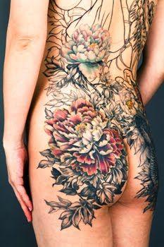 19 Best Peony Butt Tattoo Images Peony Peony Flower Peonies Tattoo