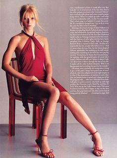 US Elle nov 2000 Gwyneth Paltrow by Gilles Bensimon and Carlyne Cerf