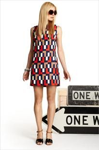 My mom had a dress like this! Glad it's back in style. Milly dress $355 at Piperlime