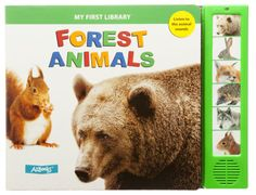 ''Forest Animals'' Board Book With Sound for Kids | Bass Pro Shops #outdoorkids #childrensbook #animalsounds #soundsbook