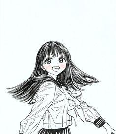 「明日ちゃんのセーラー服」を手にとってくださった皆様へ - 博(ひろ) | となりのヤングジャンプ Angel Manga, Manga Anime, Character Art, Character Design, Art Poses, Anime Life, Fairy Art, Manga Drawing, Anime Art Girl
