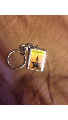 Hamilton The Musical handmade keychain by BroadwayBazaarNet on Etsy https://www.etsy.com/listing/400417437/hamilton-the-musical-handmade-keychain