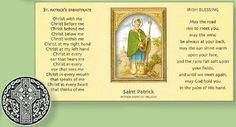 Saint Patricks day inspirational gifts with Irish blessings. May good St. Patrick bless you and keep you in his are, and may our Lord be near you, to answer every prayer. St Patrick's Day Gifts, Special Words, Irish Blessing, Saint Patrick, Inexpensive Gift, Patron Saints, Inspirational Gifts, St Patricks Day, Booklet