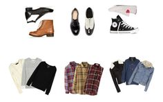 """""""123"""" by elscalder-style ❤ liked on Polyvore featuring Topshop, Zara, ASOS, Converse, rag & bone, Duffy, Uniqlo and Cameo Rose"""