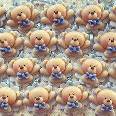 1 million+ Stunning Free Images to Use Anywhere Fimo Clay, Polymer Clay Charms, Polymer Clay Creations, Clay Crafts, Diy And Crafts, Clay Bear, Fondant Cupcake Toppers, Baby Shawer, Idee Diy