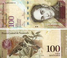 Venezuela 100 Bolivares, UNC NOTE