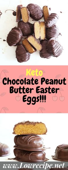 Keto Chocolate Peanut Butter Easter Eggs!!! - Low Recipe