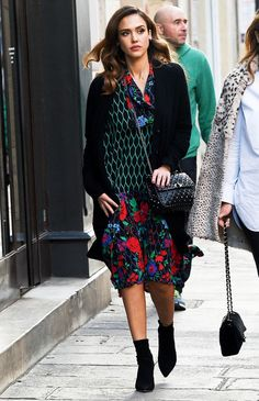 Jessica Alba Gave Us a Peek of the New Kenzo x H&M Collab | via who what wear