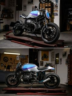 The most audacious motorcycle launch of late has been the BMW R nineT. Who'd have thought that the clinical Germans would reveal a naked boxer with built-in options for customization? Even better, Ola Stenegärd's design team have wasted no time in delivering pre-production models to selected custom builders. Here's the first cab off the rank: 'Track Grinder' from Berlin-based Urban Motor.