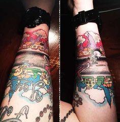 Badass tattoo! #MGKMonday