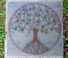 Tree of Life String Art on Etsy, $300.00