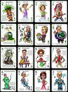 Politically Incorrect Marijuana Playing Cards Satire & Game by Tomas Diaz — Kickstarter