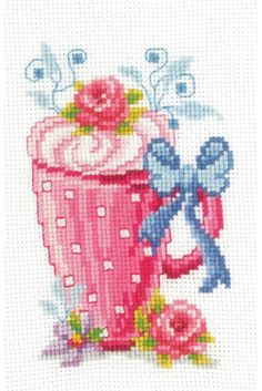 Thrilling Designing Your Own Cross Stitch Embroidery Patterns Ideas. Exhilarating Designing Your Own Cross Stitch Embroidery Patterns Ideas. Cross Stitch Kitchen, Mini Cross Stitch, Simple Cross Stitch, Cross Stitch Flowers, Cross Stitch Kits, Cross Stitch Charts, Cross Stitch Designs, Cross Stitch Patterns, Cross Stitching