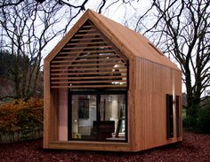 I came across these minimalist eco homes today. I want one! I would love to buy some land in London and put a few of these up on it. If anyone's interested let me know. The website is: www.dw…