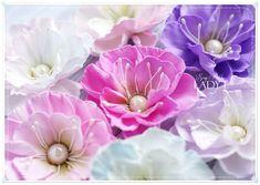 Foamiran Flowers by Lady E