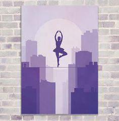 ballerina digital poster digital print wall art