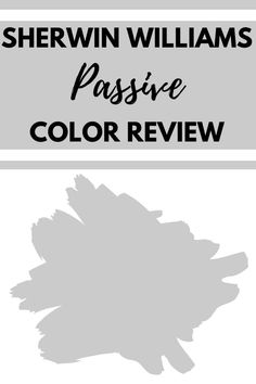Sherwin Williams Passive is a cool-toned gray paint color. Learn all about what makes this shade of gray the perfect interior wall paint color. #gray #paintcolors #home #interiordesign Neutral Gray Paint, Shades Of Grey Paint, Light Grey Paint Colors, Best Neutral Paint Colors, Gray Painted Walls, Wall Paint Colors, Passive Sherwin Williams, Sherwin Williams Gray, Painting Shiplap