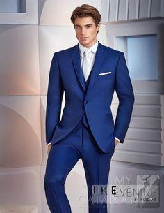 Cobalt or Royal Blue  Greenwich  Tuxedo by Ike Behar Tuxedo Coat, Tuxedo  Pants 2f2c5826ce
