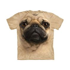 Pug Face T-Shirt, 19€, now featured on Fab.