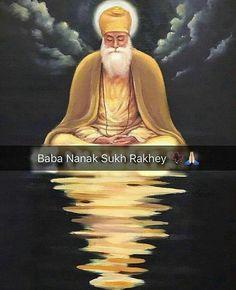 🙏🙏 Sikh Quotes, Gurbani Quotes, Indian Quotes, Holy Quotes, Punjabi Quotes, Truth Quotes, Guru Nanak Pics, Guru Nanak Photo, Guru Pics