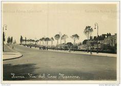 Foto storiche di Roma - Via del Circo Massimo
