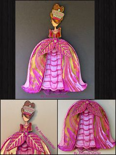 "Julie Nutting Prima Doll - Altered Mindy, ""Take Me To The Ball"" theme"