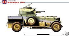 Rolls-Royve 1940 armored car