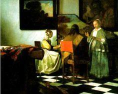 The concert by Johannes Vermeer