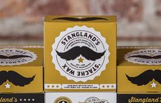 Stangland's Stache Wax #movember