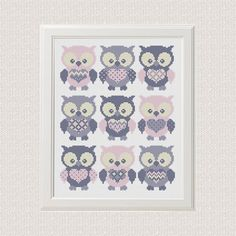 Instant Download Free shipping baby cross stitch pattern pdf