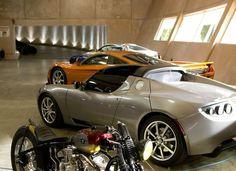 Image result for residential underground garage Underground Garage, Underground Homes, Garage Design, House Design, Cool Garages, Basement House, Garage Workshop, Dream Garage, Car Parking
