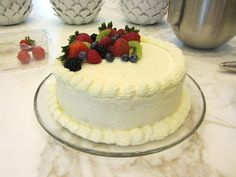 whole foods berry chantilly cake ingredients/recipe?   Berry ...
