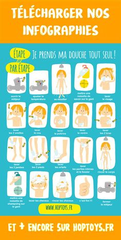 I print my poster: I take my shower alone - - Uncategorized 733242383061307605 Autism Education, Montessori Education, Educational Activities, Activities For Kids, Baby Development, Hygiene, Kids And Parenting, Diy For Kids, Positivity
