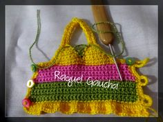 #Crochet #Barbie #Doll #Enconstrução #Roupa Muñeca #Cléa5 #RaquelGaucha