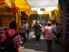 """Calle Argentina. Donde había una vecindad llamada """"El cuarenta"""" demolida por el gobierno del D.F debido a la insistencia del narcotráfico por apoderarse de esta zona."""