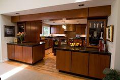 Contemporary Kitchen design idea as seen on www.interiordesignpro.org