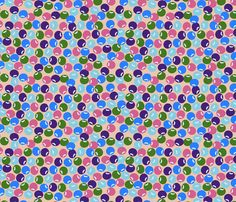 bubbles_everywhere fabric by anino on Spoonflower - custom fabric