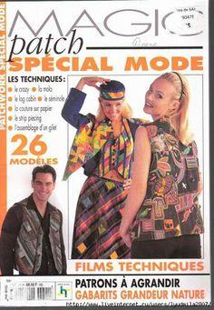 Лоскутные мелочи и не только.....: Две версии журнала по шитью одежды в технике пэчво...
