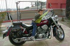 first bike...