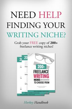 Take the first step to becoming a freelance writer by finding your niche! Check out this list of 200+ freelance writing niches you can choose from today! Perfect for beginners and bound to get you inspired with writing topics + ideas! Click through to get your FREE copy of the list and pick your top niches today! #aff