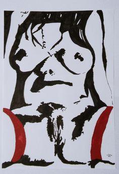A new work regarding erotica. My art style revolves around negatives. I work under the name Jo.