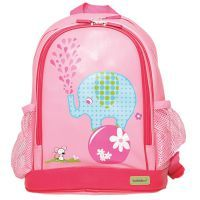 Bobble Art Elephant Large PVC Backpack www.mamadoo.com.au #mamadoo #bags #kidsbackpacks