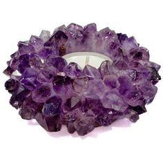 Mapleton Drive Candle Holder In Amethyst Purple By ($60) ❤ liked on Polyvore featuring home, home decor, candles & candleholders, candle holders, purple home accessories, amethyst candle holder, purple home decor and purple candle holders