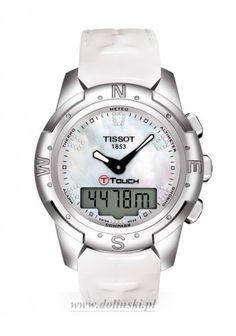 Damski zegarek Tissot T-Touch II Titanium T047.220.46.116.00 #Tissot #TissotWatches #T-Touch #ZegarekTissot #Zegarek #watches #menswatches #buyonline #shop #Poland #freedelivery