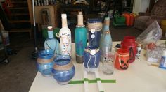 Crafting bottles and jars!