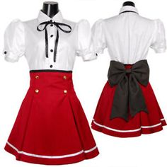 japanese+uniforms++anime | Clothing, Shoes & Accessories > Costumes, Reenactment, Theater ...