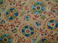 P Kaufman - Suzani Chai - Dining Room drapes